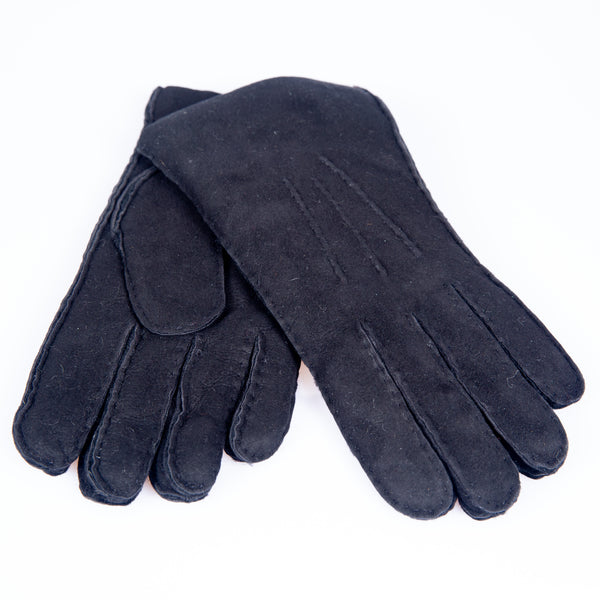 Shearling Gloves (Black)
