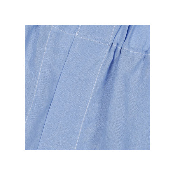 Washed Italian Blue Linen Boxers