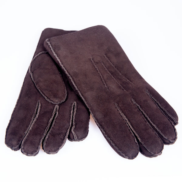 Shearling Gloves (Espresso)