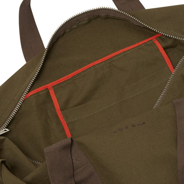 Olive Cavalry Twill Parachute Bag Large