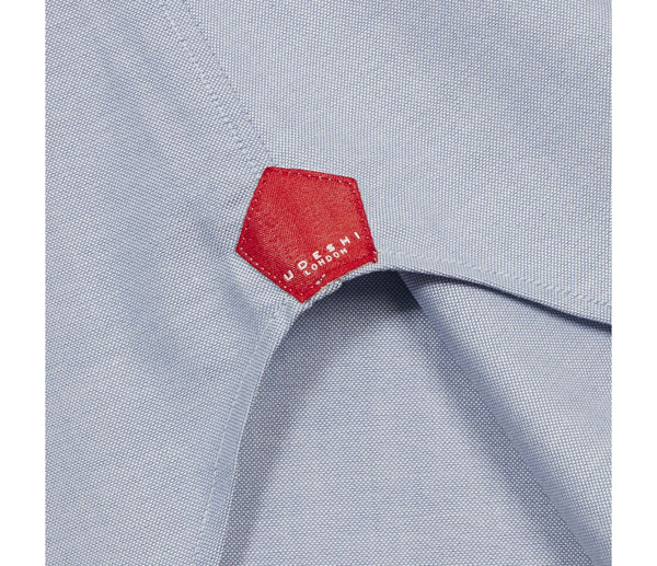 Swiss Blue Oxford Shirt