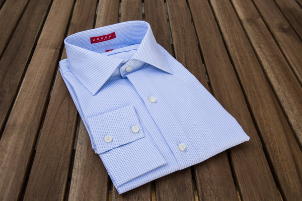 Swiss Blue Stripe Shirt