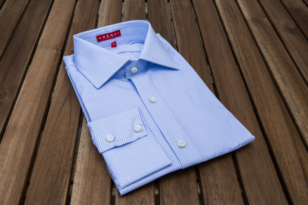 Swiss Blue Check Shirt