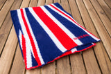 Union Jack Scarf (red white and blue)