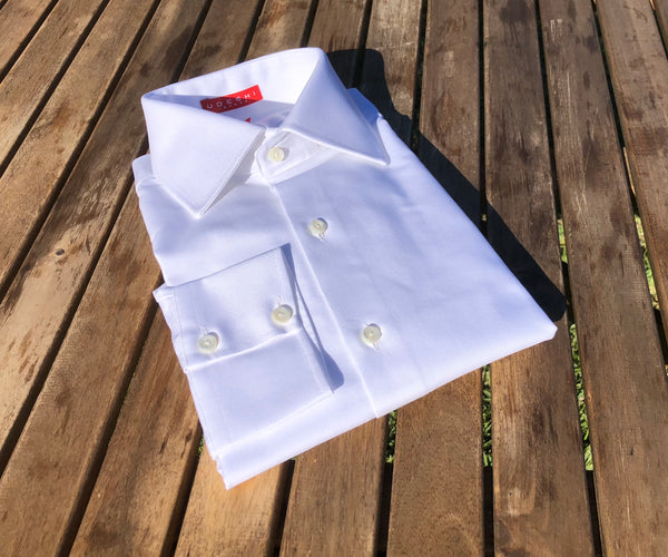 Swiss White Oxford Shirt