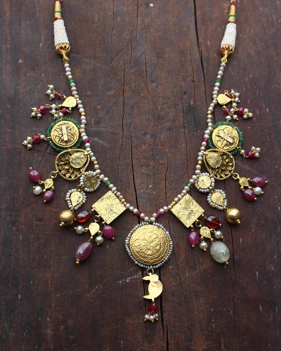 Ashtamangala Necklace
