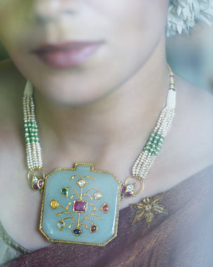 Chhavi Jade Necklace