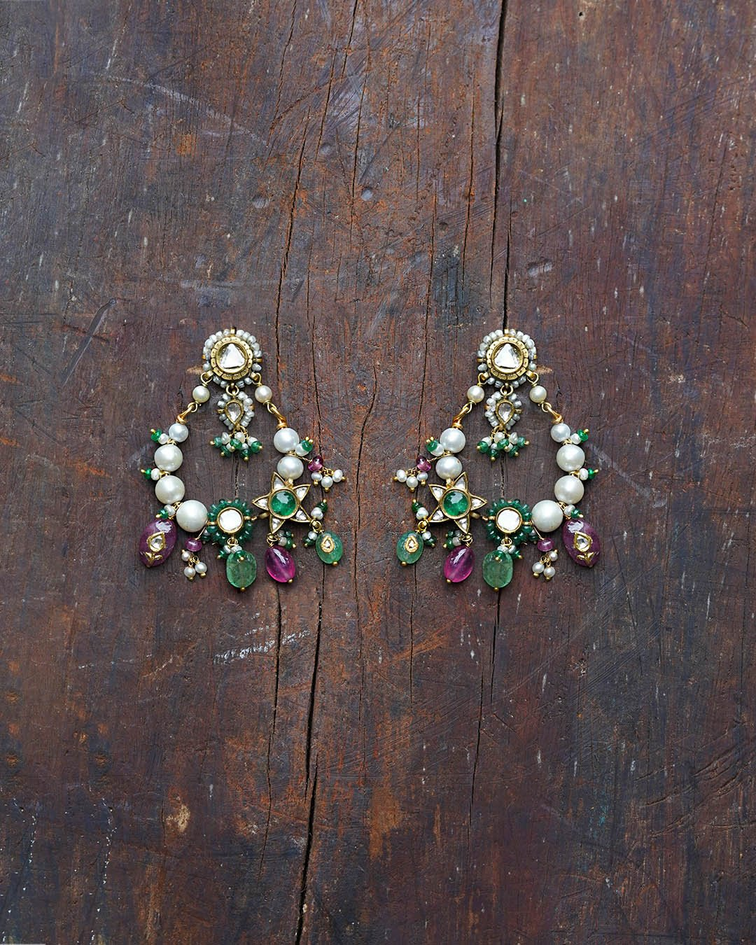 Pushp Earrings