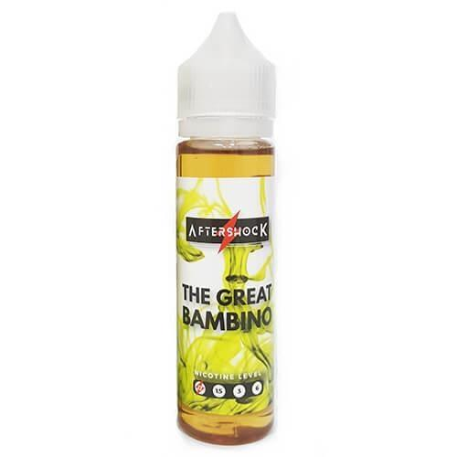 Aftershock E-Liquid - The Great Bambino