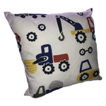 Digger & Dozers Primary Scatter Cushion
