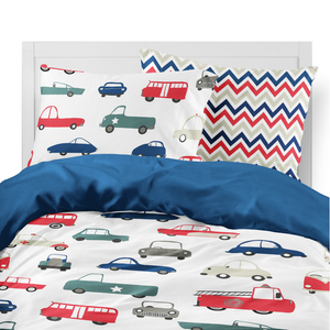 Traffic Granite Kids Duvet Set