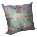 Forest Owl House Scatter Cushion