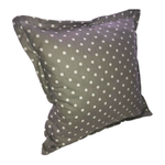 Grey With White Dots Scatter Cushion