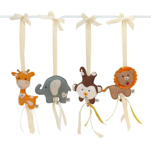 Safari Felt Dingle Dangle Set
