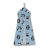 Blue Playful Panda Nappy Stacker