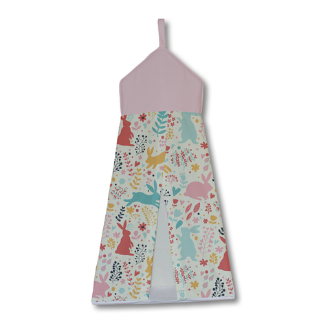 Pastel Spring Rabbits Nappy Stacker