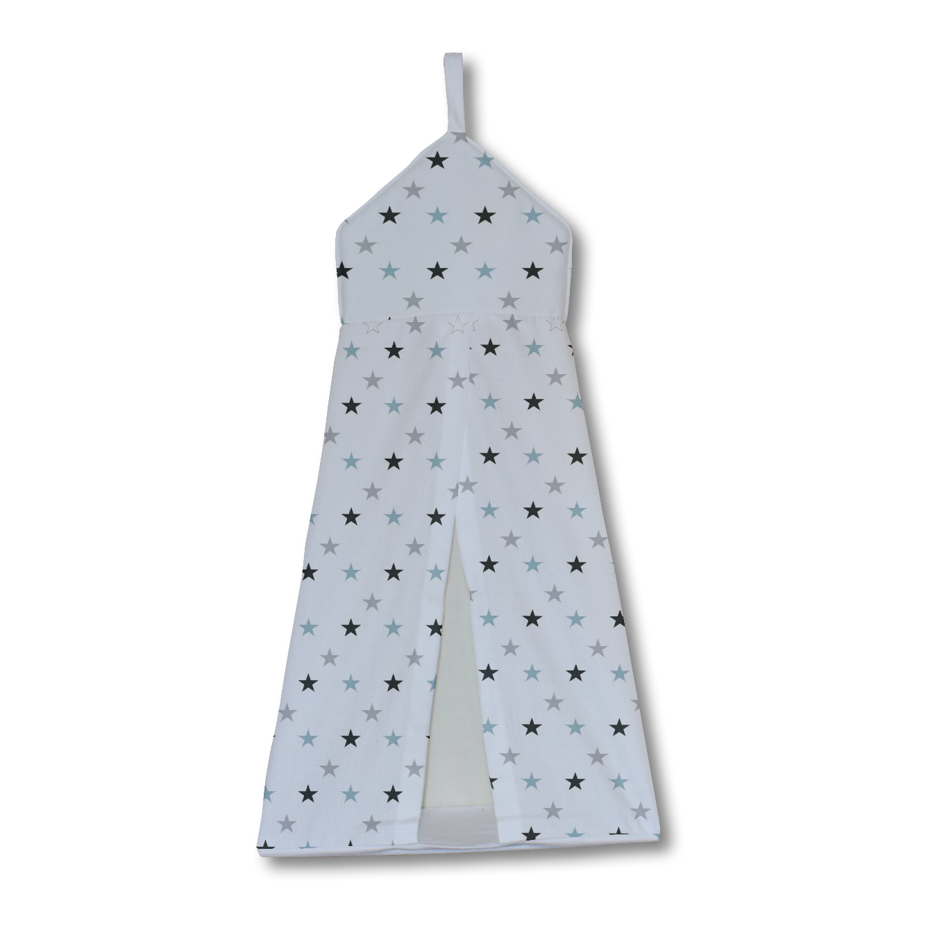 Blue and Grey Twinkle Nappy Stacker