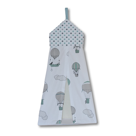 Blue Up and Away Nappy Stacker
