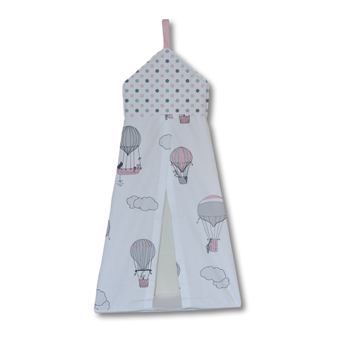 Pink Up and Away Nappy Stacker