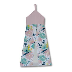 Watercolour Floral Nappy Stacker