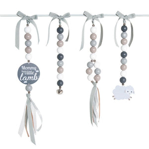 Little Lamb Natural Dingle Dangle Set