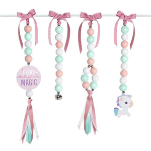 Magical Unicorn Natural Dingle Dangle Set