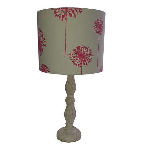 Pink Dandelion Lamp Shade Drum