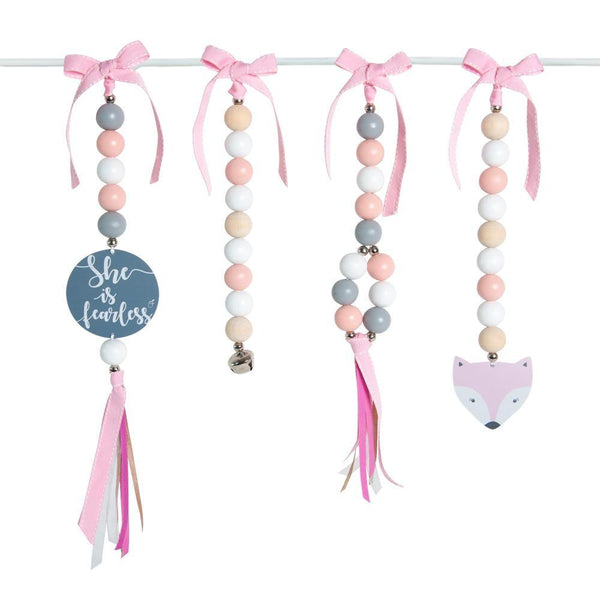 Fearless Foxy Natural Dingle Dangle Set