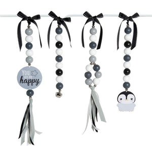 Happy Penguin Natural Dingle Dangle Set