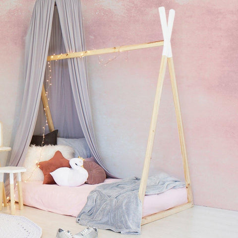 Solid Pine Teepee Bed