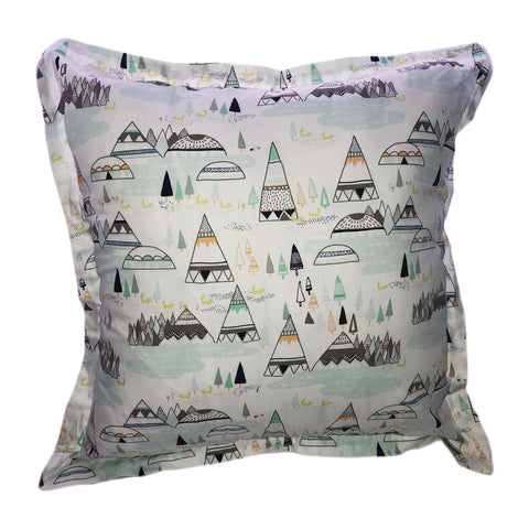 Teepee & Mountains Scatter Cushion