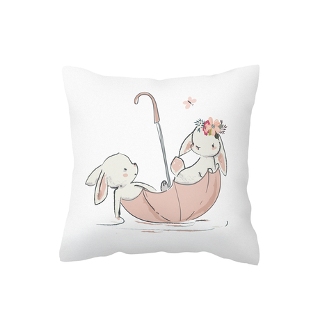Adventure Bunnies Scatter Cushion