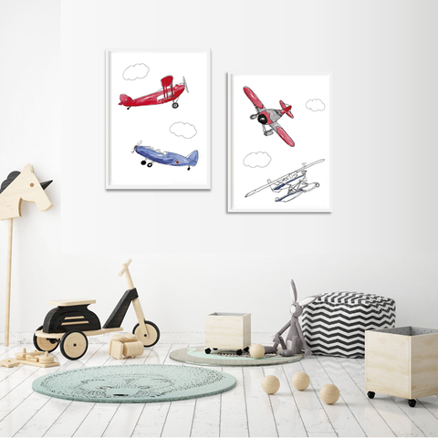 Air Show Wall Prints