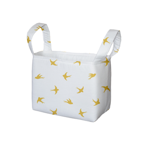 Gold Flight Fabric Storage Bin