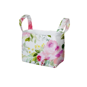 Flower Show Fabric Storage Bin