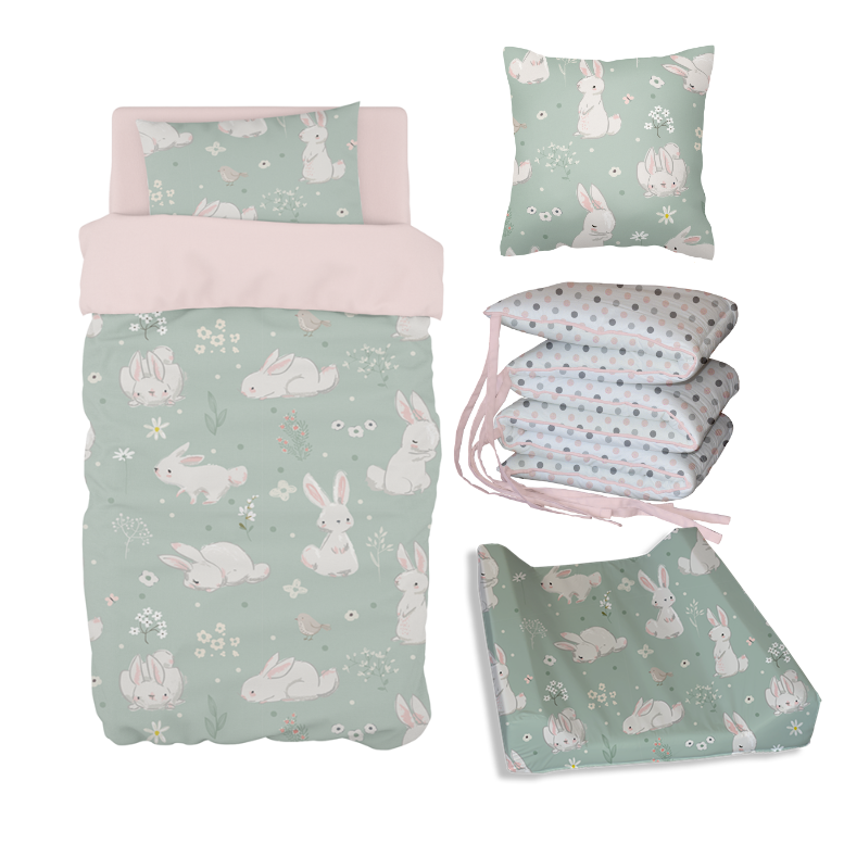 Meadow Hares Bale Set