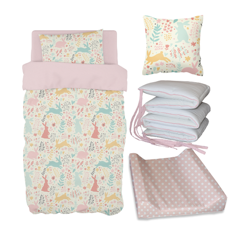 Spring Rabbits Bale Set