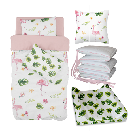 Tropical Flamingo Bale Set