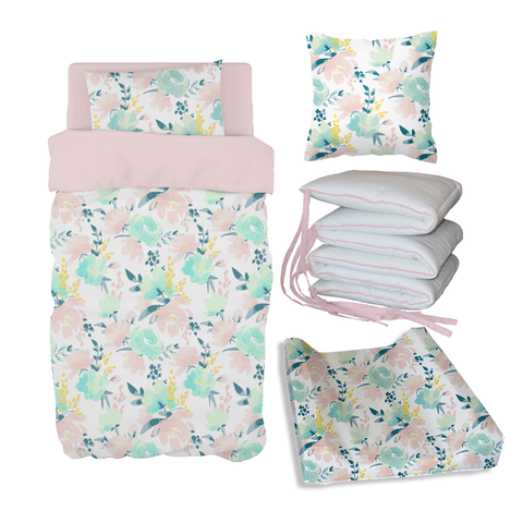 Watercolour Floral Bale Set