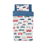 Granite Traffic Cot Duvet Set
