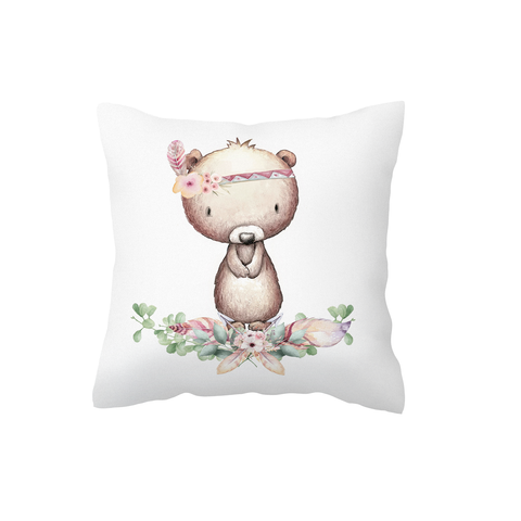 Boho Bear Scatter Cushion Cover