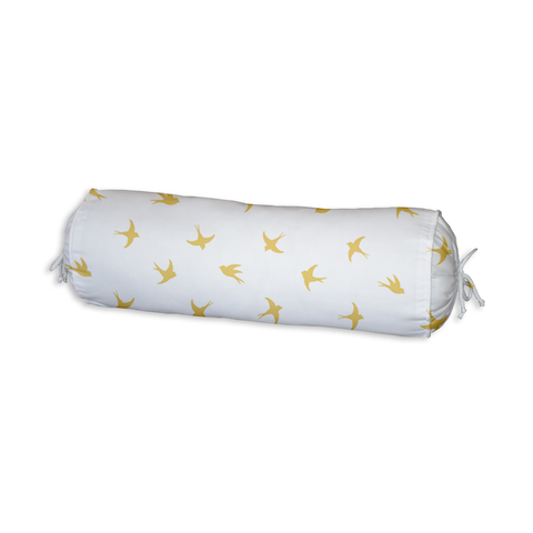 Gold Flight Bolster Cushion