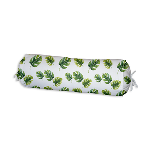Monstera Leaves Bolster Cushion