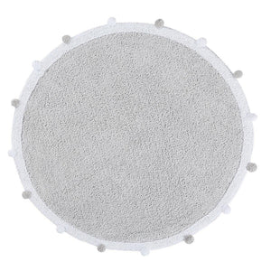 Bubbly Light Grey Rug