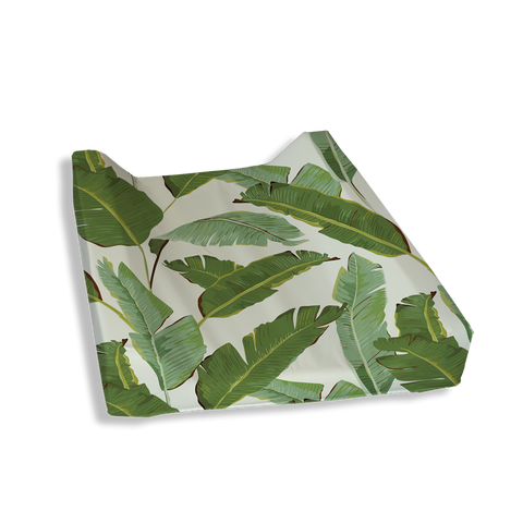 Palm Leaves Change Mat Cover