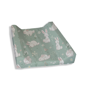 Meadow Hares Change Mat Cover