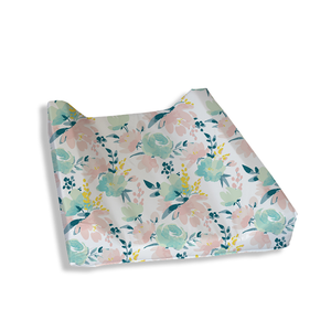 Watercolour Floral Change Mat Cover