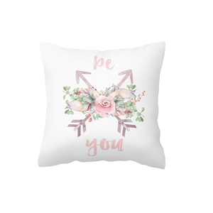 Pink Be You Scatter Cushion Cover