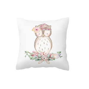 Boho Owl Scatter Cushion Cover