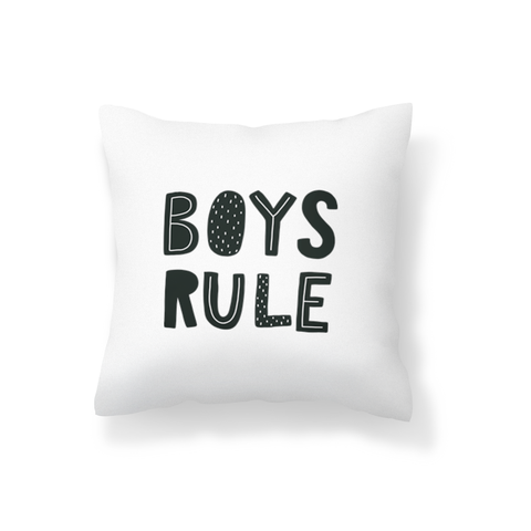 Boys Rule Scatter Cushion
